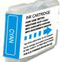 Brother Compatible InkJet Cartridge LC-51 Cyan