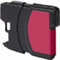 Brother Compatible InkJet Cartridge LC61 and LC65 Magenta