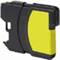 Brother Compatible InkJet Cartridge LC61 and LC65 Yellow