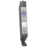 Canon Compatible InkJet Cartridge CLI-281 XXL Photo Blue