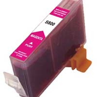 Canon Compatible InkJet Cartridge  CLI-8M - Magenta