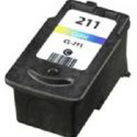 Canon Remanufactured InkJet Cartridge  -- CL-211XL Colour