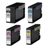 Canon Compatible InkJet Cartridge PGI-2200XL - Full Set Value Pac
