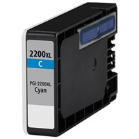 Canon Compatible InkJet Cartridge PGI-2200XL - Cyan
