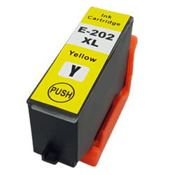 Epson Compatible T202XL420 T-202XL High Capacity Yellow InkJet Cartridge