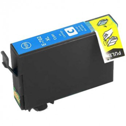 Epson Compatible T702220 T-702XL High Capacity Cyan InkJet Cartridge