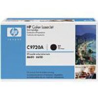 HP Original OEM C9720A Black Toner Cartridge