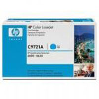 HP Original OEM C9721A Cyan Toner Cartridge