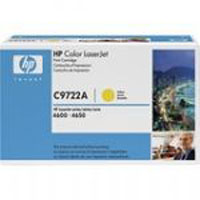 HP Original OEM C9722A Yellow Toner Cartridge