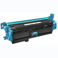 HP Compatible CF401X (201X) Cyan High Capacity Toner Cartridge