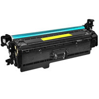HP Compatible CF402X (201X) Yellow High Capacity Toner Cartridge