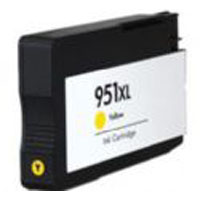 HP #951XL Yellow CN048AC High Capacity Remanufactured Cartridge