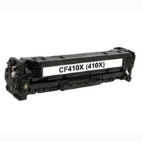 HP Compatible CF410X (410X) Black High Capacity Toner Cartridge