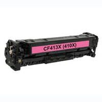 HP Compatible CF413X (410X) Magenta High Capacity Toner Cartridge