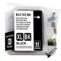 Brother Compatible InkJet Cartridge LC-101 LC-103 Black High Capacity Cartridge