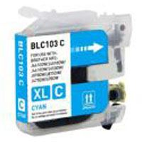 Brother Compatible InkJet Cartridge LC-101 LC-103 Cyan High Capacity Cartridge