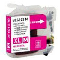 Brother Compatible InkJet Cartridge LC-101 LC-103 Magenta High Capacity Cartridge
