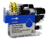 Brother Compatible InkJet Cartridge LC3019XXL LC-3019XXL Cyan Extra High Capacity Cartridge