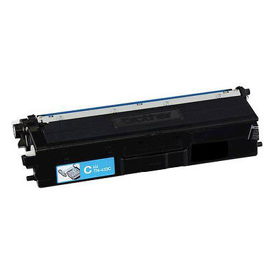 Brother TN439 (TN-439) Cyan New, Ultra High Capacity Compatible Cartridge