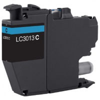 Brother Compatible InkJet Cartridge LC3013 LC-3013 Cyan High Capacity Cartridge