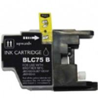 Brother Compatible InkJet Cartridge LC71 LC75 High Capacity Black Cartridge
