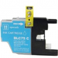 Brother Compatible InkJet Cartridge LC71 LC75 High Capacity Cyan Cartridge