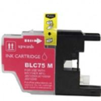 Brother Compatible InkJet Cartridge LC71 LC75 High Capacity Magenta Cartridge