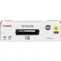 Canon 116 OEM Original Yellow Toner Cartridge