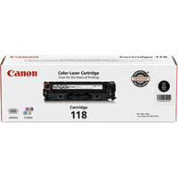 Canon 118 OEM Black Toner Cartridge