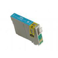 Epson Compatible T127220 T1272 Extra High Cyan Compatible InkJet Cartridge