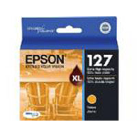 Epson OEM Original T127420 T127 Extra High Capacity Yellow Cartridge