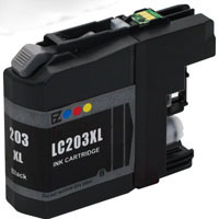 Brother Compatible InkJet Cartridge LC203XL LC-203XL Black High Capacity Cartridge