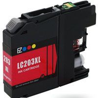 Brother Compatible InkJet LC203XL LC-203XL Magenta High Capacity Cartridge