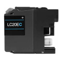 Brother Compatible InkJet Cartridge LC20E LC-20E Extra High Capacity Cyan Extra High Capacity Cartridge